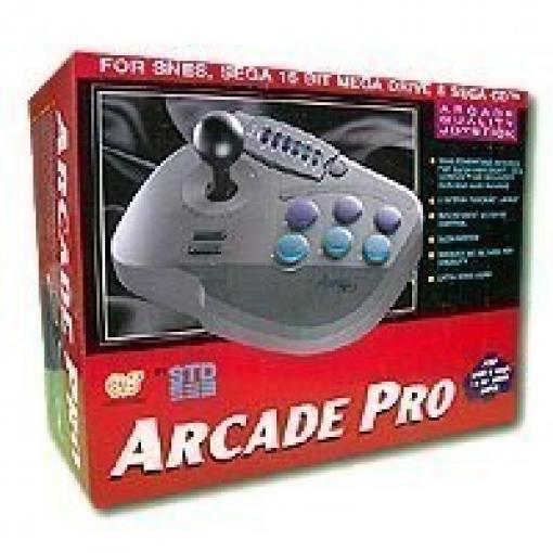 Arcade Pro Stick SNES, SEGA 16 BIT MEGA DRIVE & SEGA CD