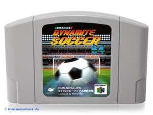 J-League Dynamite Soccer 64