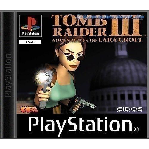 PS1 - Tomb Raider 3