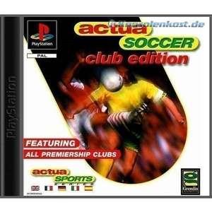 Actua Soccer #Club Edition