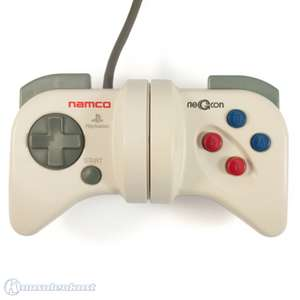 Controller / Pad #weiß Negcon [Namco]