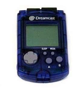 Original VMU Memory Card #blau
