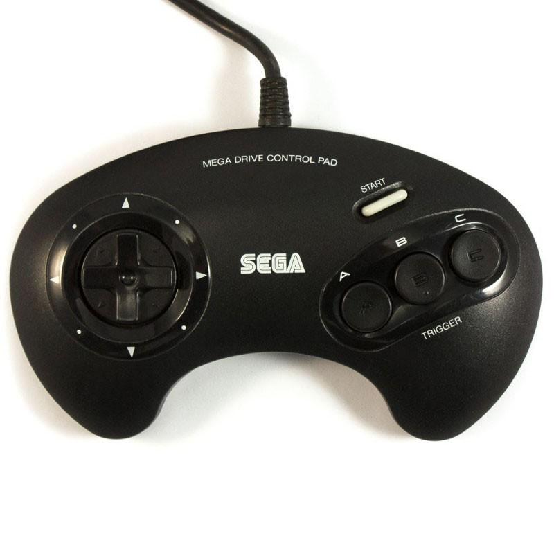 Mega Drive - Original 3-Button-Controller / Control Pad No.1650 [SEGA]