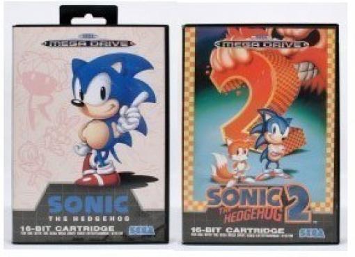 Sonic 1 + Sonic 2