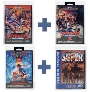 Streets of Rage 1 & 2 + Street Fighter 2 & Super Street Fighter 2
