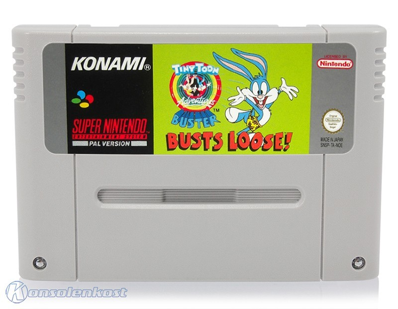 SNES - Tiny Toon Adventures: Buster Busts Loose!