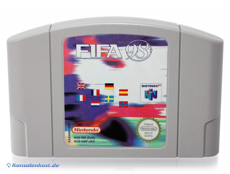 N64 - FIFA 98: Die WM Qualifikation / Road to World Cup