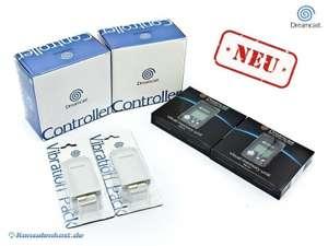 2 Controller + 2 Vibration + 2 VMU #schwarz