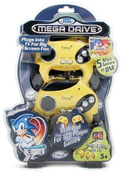 Konsole Plug & Play Time + 2 Controller + Spiele