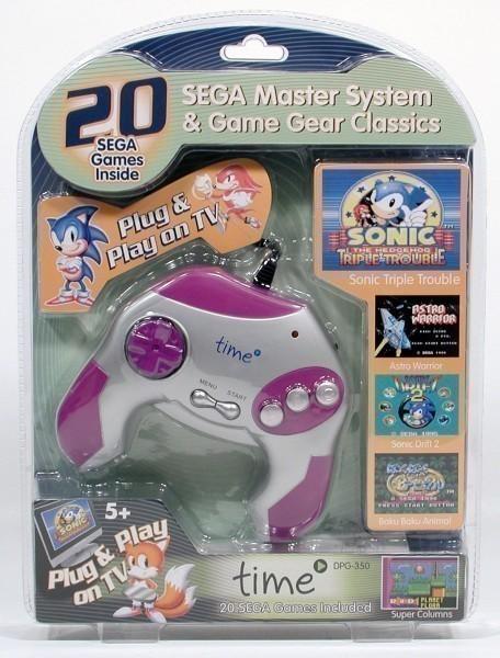 Sega Master System & GameGear Game Pad mit 20 Spiele Klassikern