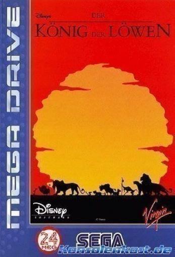 Mega Drive - Lion King / König der Löwen
