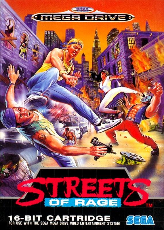 Mega Drive - Streets of Rage 1