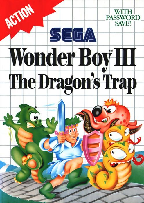 Master System - Wonder Boy III: The Dragon\'s Trap