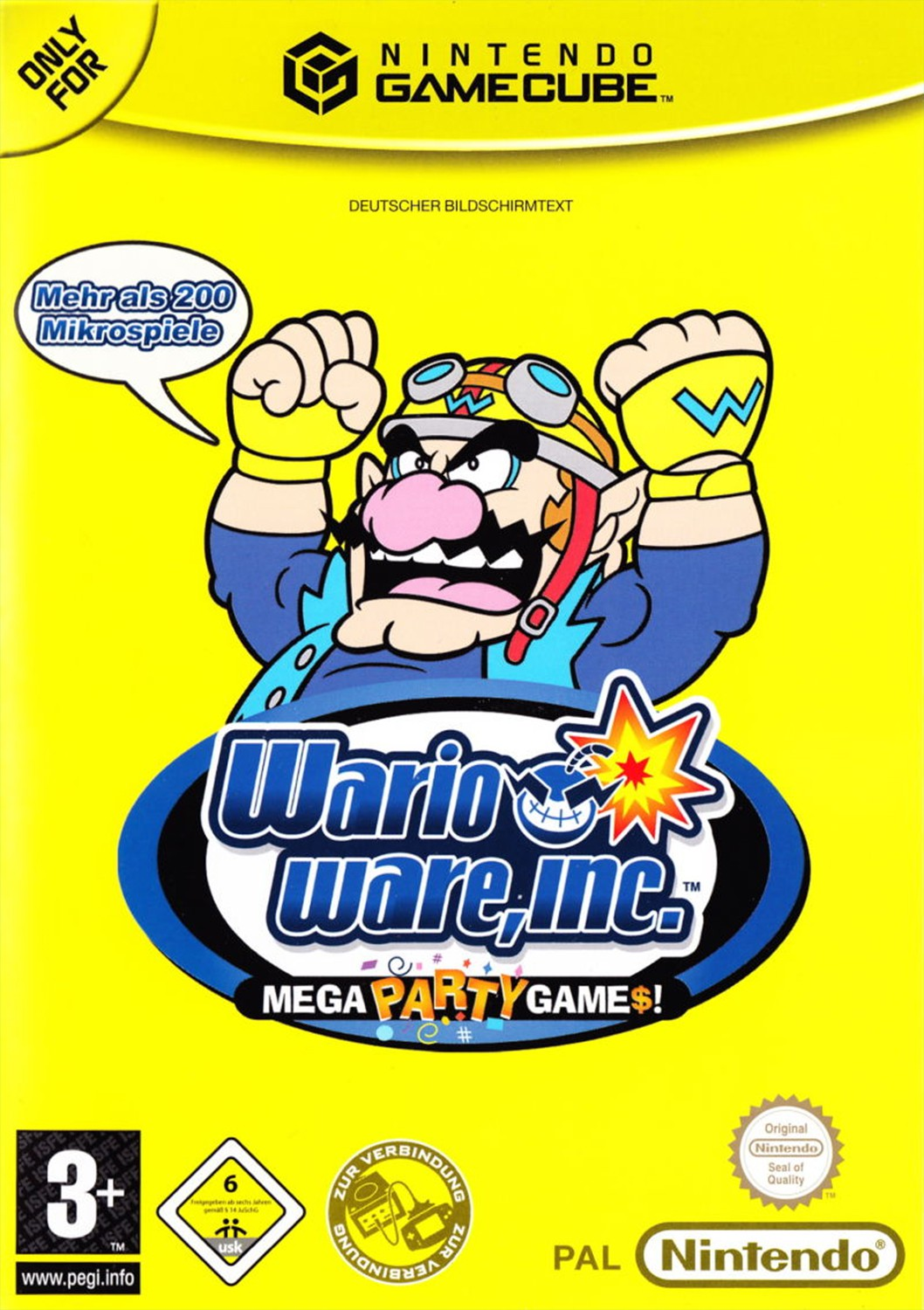 Wario Ware - Mega Party Games