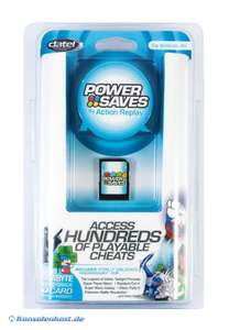 Memory Card / 1GB SD Speicherkarte inkl. Powersaves Action Replay [Datel]