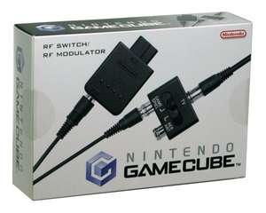 Original Nintendo RF - Antennenkabel mit Schalter / Switch / Unit