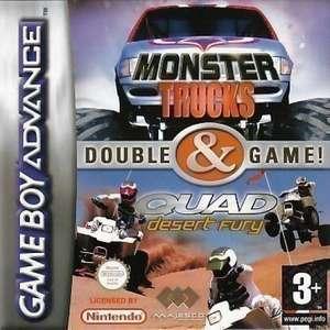 2 in 1: Monster Trucks + Quad Desert Fury