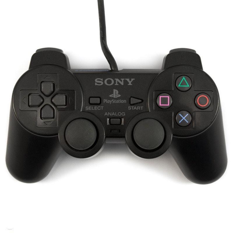 Original Sony Dualshock 2 Controller / Pad SCPH-10010 #schwarz