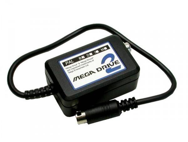 MD 2 RF Modulator / Adapter für den Anschluss eines Standard Antennenkabel an den MD2
