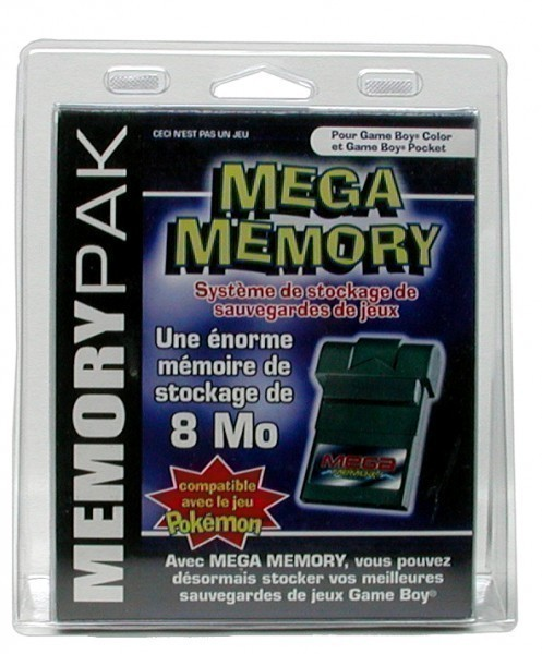 GameBoy Color - Mega Memory für z.B. Pokemon [BigBen]