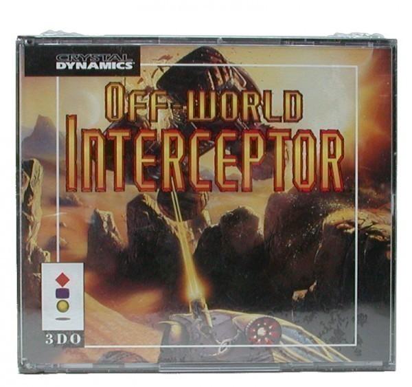 Off-World Interceptor CD-Case