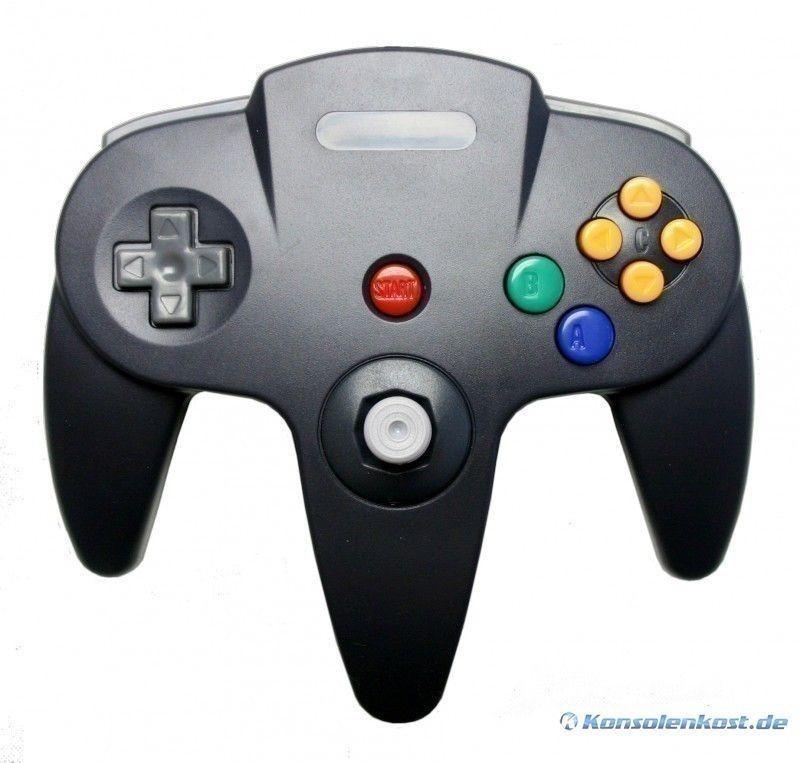 N64 - Controller / Pad #schwarz