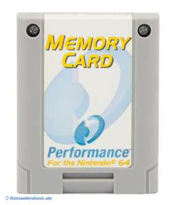 Memory Card / Memorycard / Speicherkarte / Controller Pak 256 KB [Performance]