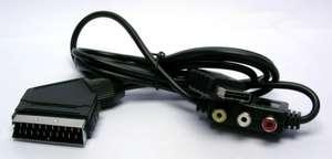 RGB Scartkabel / Scart Kabel mit AV-Out [Dritthersteller]