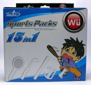 Zubehör-Set: 15 in 1 Sports Pack [PEGA]