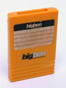 Memory Card / Memorycard / Speicherkarte #gelb [BigBen]