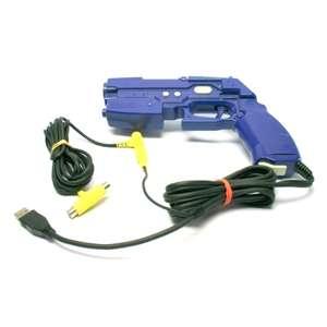 Light Gun / Pistole / Phaser #blau Guncon 2 NPC-106 [Namco]