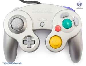 Original Nintendo Controller / Pad #silber DOL-003
