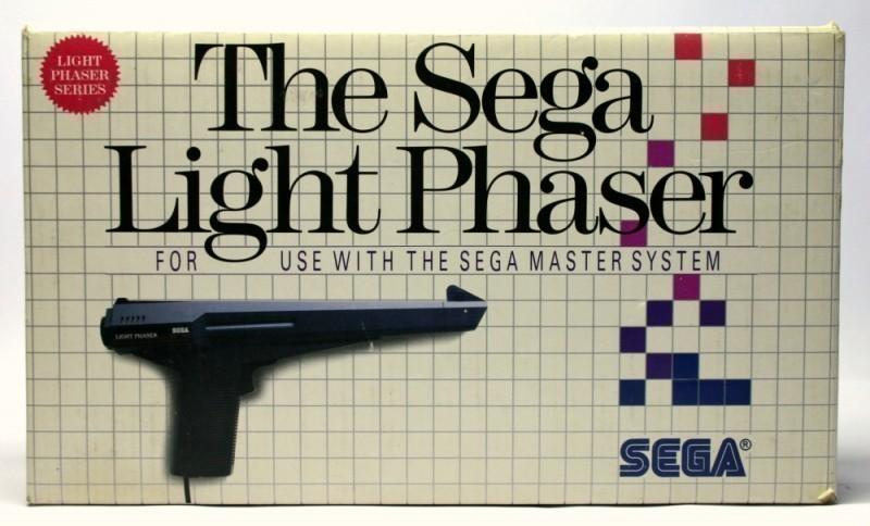 Master System - The Sega Light Phaser - Lightgun / MK-3050-50 [Sega]