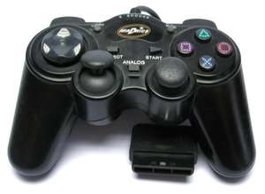 Controller / Pad mit Turbo & Slowmotion #schwarz X Shock 2 Gamepad [Madrics]