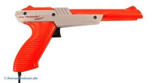 Original Zapper Lightgun #rot [Nintendo]