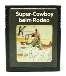 Super Cowboy beim Rodeo #Colorlabel