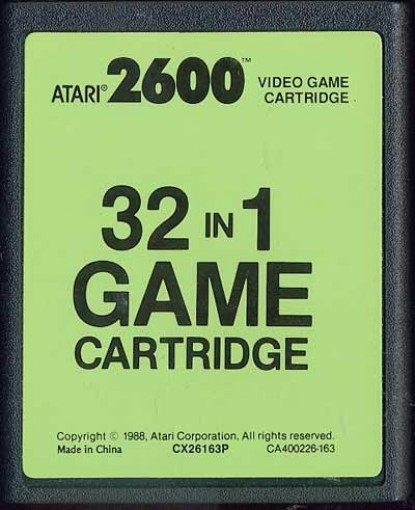 32 in 1 Game Cartridge