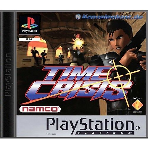 Time Crisis: Project Titan + G-Con