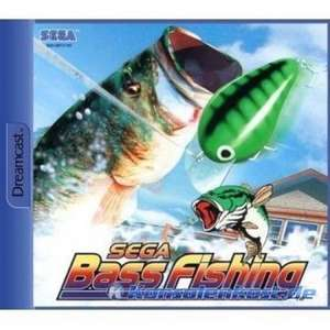 Original Angel / Fishing Rod + Sega Bass Fishing