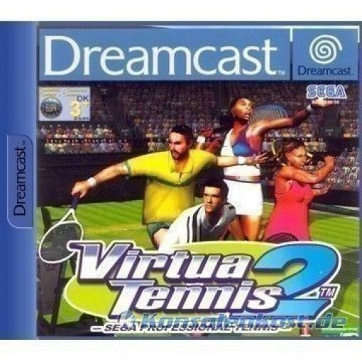 Dreamcast - Virtua Tennis 2