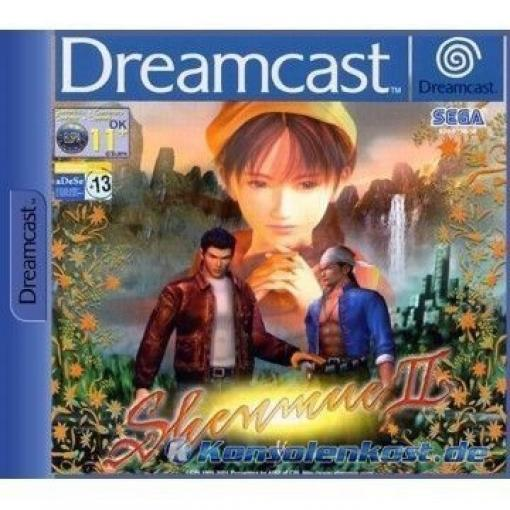 Dreamcast - Shenmue II / 2 #4 CD\'s