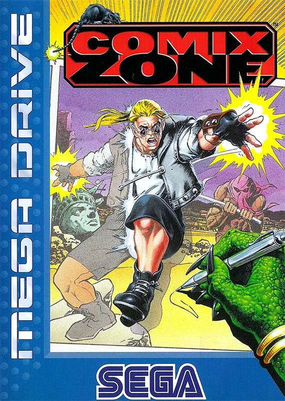 Mega Drive - Comix Zone