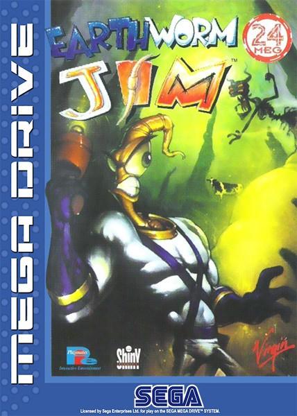 Mega Drive - Earthworm Jim 1