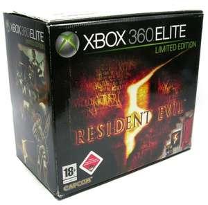 Konsole Elite 120GB #Resident Evil 5 Edition + Spiel