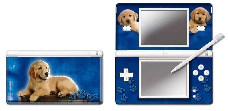 Nintendo DS - NDS Lite - Modding Skin [Blue Retriever]