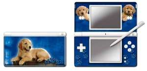 NDS Lite - Modding Skin [Blue Retriever]