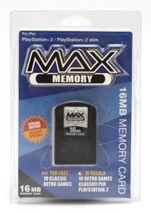 Memory Card / Memorycard / Speicherkarte 16 MB Max Memory ENG/ITA [DATEL]