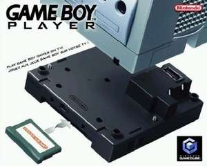 Original GameBoy Player Adapter: Hardware inkl. Software #schwarz [Nintendo]