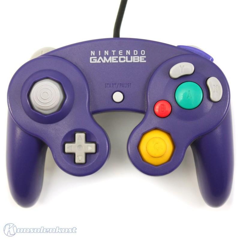 GameCube - Original Nintendo Controller / Pad #lila-transp. DOL-003