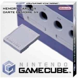 Original Nintendo 59 Memorycard / Speicherkarte #grau DOL-008